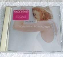 Madonna - Something To Remember CD Album 1995 JG1 Eastern Creek Blacktown Area Preview