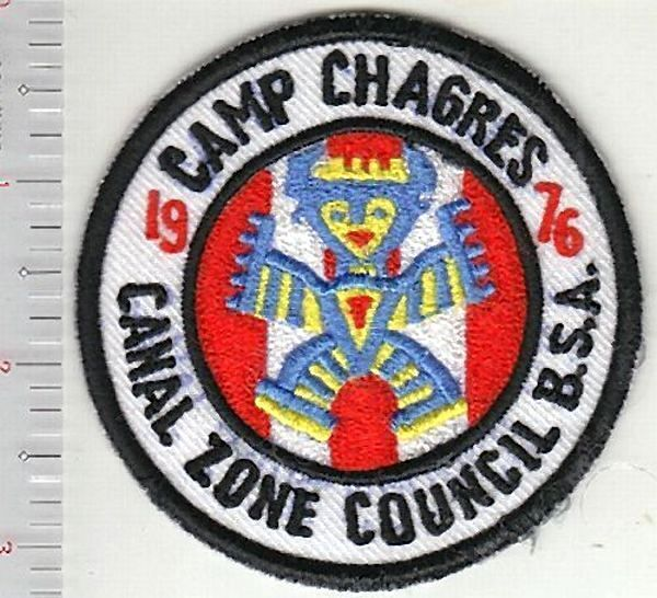 Canal Zone Boy Scouts of America BSA Camp Chagres 1976 CZ Council Panama