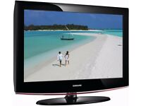 TV Sumsung LE32B450 black in good and working conditions. No remote control.