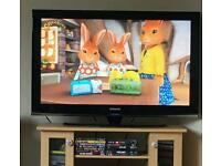 """50"""" Samsung HD tv with freeview box"""