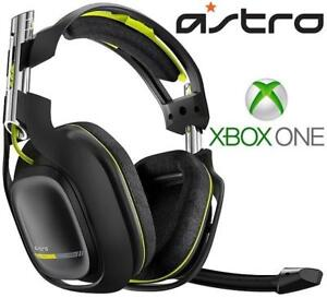 REFURB* XBOX ONE ASTRO A50 HEADSET A50 201968186 GAMING VIDEO GAMES HEADPHONES WIRELESS REFURBISHED