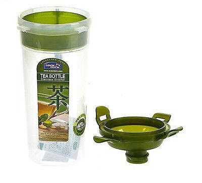 Lock&Lock Handy Tea Water Bottle 470ml BPA-free Stainless strainer Health Strap