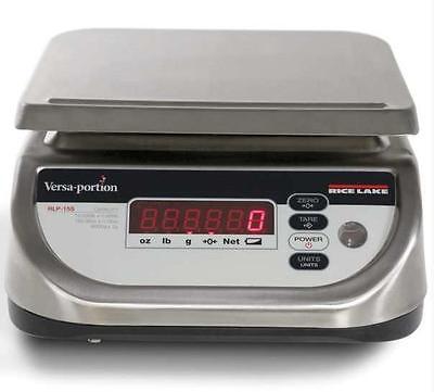 Rice Lake Versa-portion Rlp-6s Washdown Portion Control Scale 3000 X 1 G Ntep