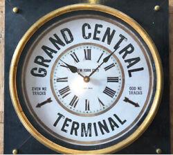 Designer New York GRAND CENTRAL STATION Style Square Clock 18x18