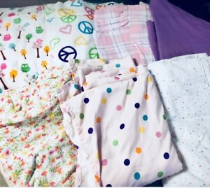 Flat TWIN Sheet Lot- Set of 7 for $15