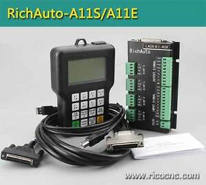 Richauto A11 CNC Handle DSP Controller System for 3 Axis CNC Rou London Ontario image 1
