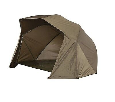 JRC NEW Carp Fishing Green Contact Oval Brolly - 1338007