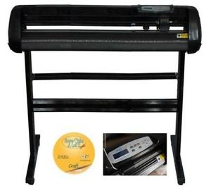 Vinyl 34inch 500g Cutter Plotter Black Color Craftedge Software (004560)