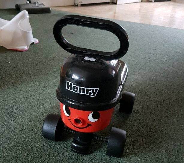 Henry Hoover ride on/push along