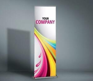 Roll Up Banner Stands includes graphics - Only $70 each!!!!! WINTER SPECIAL