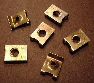 100 x Blechmutter Blechmuttern Schnappmutter  3,9 mm (0,15 €/Stk.)