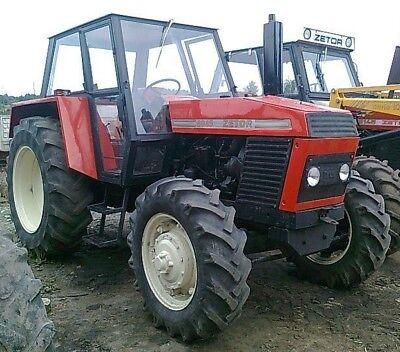 Używany, Zetor 8011 8045 12011 12045 Tractor Service Repair Technical Manual na sprzedaż  Wysyłka do Poland