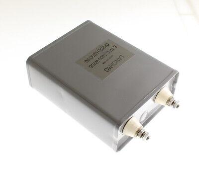 1x 8mfd 1000vdc Hermetically Sealed Oil Capacitor 8uf 1000v Dc 1kv Volts 8mf