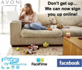 Sign up with Avon