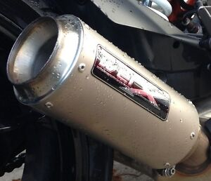 KTM 1290 Superduke 2014 Titanium WERX GP Exhaust SL Can Includes Baffle