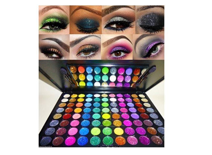 Beauty Treats Glitter Eye Shadow Palette - 88 Glitter Palett