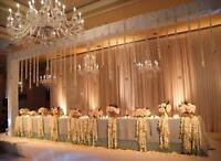 Save money! wedding backdrops decor center pieces