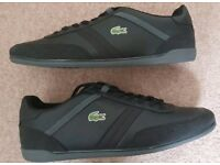 Lacoste Mens Black shoes - Size 12
