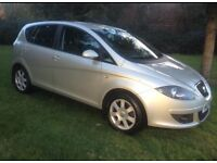 2005 SEAT ALTEA 1.9 TDI SE 105 BHP NEW CLUTCH AND FLYWHEEL ALLOY WHEELS EXCELLENT CONDITION