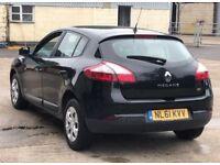 2011 Renault Megane 1,5 litre diesel 5dr 1 owner