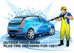 OUTSIDE HAND WASH FOR $15!!!! TAX IN
