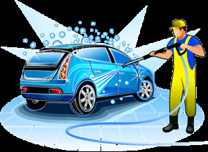 Car wash by hand and detailing + installing tires