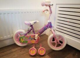 Girls 12'' fairy bike LIKE NEW