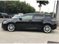 2013 Lexus CT 200h 1,8 litre 5dr 1 owner
