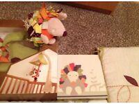 Mamas and papas Nursery equipment and bedding set