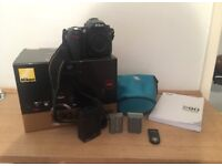 Nikon d90 body only with accessories