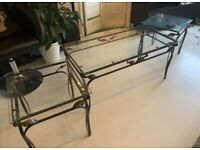Coffee Table and side stools