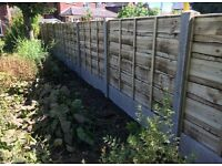 ☀️Heavy Duty Wooden Wayneylap Fence Panels • Pressure Treated