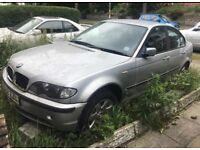 BMW 320D 2002 52 Reg 76k