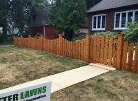 Custom Fencing and Post Holes