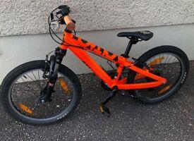 "Scott voltage 20"" kids bike. Good condition, suitable for age 6-8."