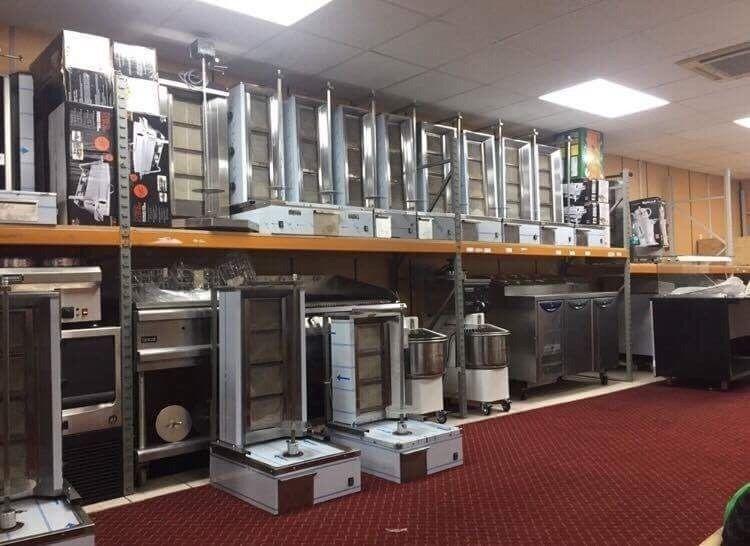 NEW GAS 4 BURNER DONER KEBAB SHAWARMA GRILL MACHINE RESTAURANT TAKE AWAY FAST FOOD KITCHEN BAR