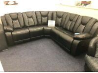 3 AND 2 SEATER RECLINER SOFA ON FINANCE ?50 PER MONTH 767