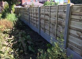 🐝Heavy Duty Timber Wayneylap Fence Panels New • Tanalised