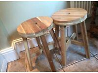 Pair of kitchen stools