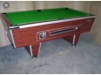 6x3 pub pool table