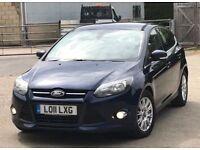 2011 Ford Focus 1,6 litre diesel 5dr 1 owner