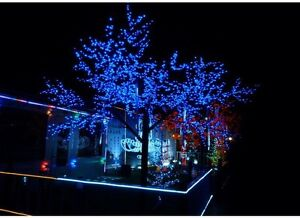 SOLAR powered String lights 10 meters