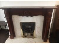 REDUCED Fire surround / Fireplace