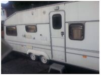 May swap for a car Hi Im saling my carvan duble tyre one 5 person one Bathroom +toalet ... only £895