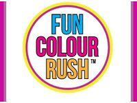 X1 Ticket for Nottingham Fun Colour Rush 2017