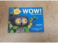 Wow said the Owl Book