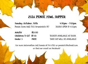 Pense Fowl Supper Regina Regina Area image 1