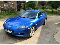 MAZDA RX-8 06 62k Leather, Heated seats £2995