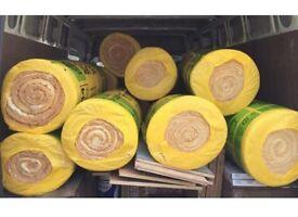 Isover Insulation fibreglass rock wool