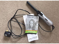 Vidal Sassoon ceramic curling tongs irons